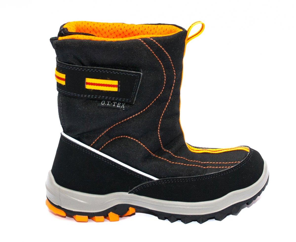 Apres ski copii impermeabile gt-tex 93120 negru port 26-36