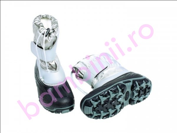 Apreskiuri copii Fun Pj shoes gri 21-36