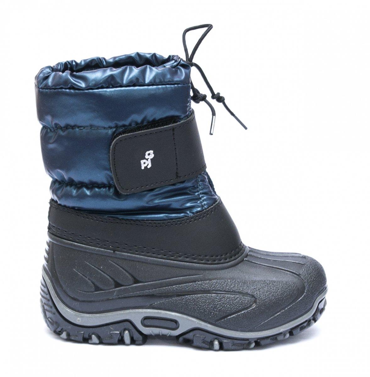 Apreschiuri copii pj shoes Fun albastru negru 21-36