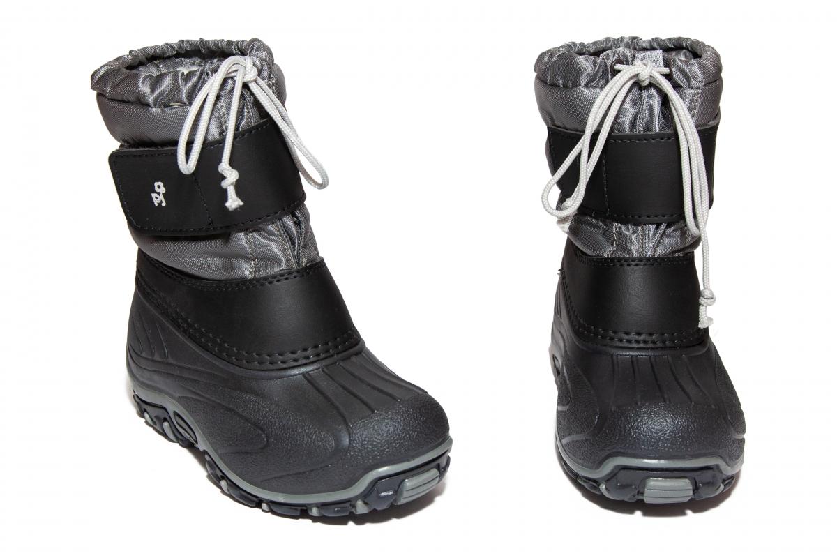 Apreschiuri copii pj shoes Fun gri negru 21-37