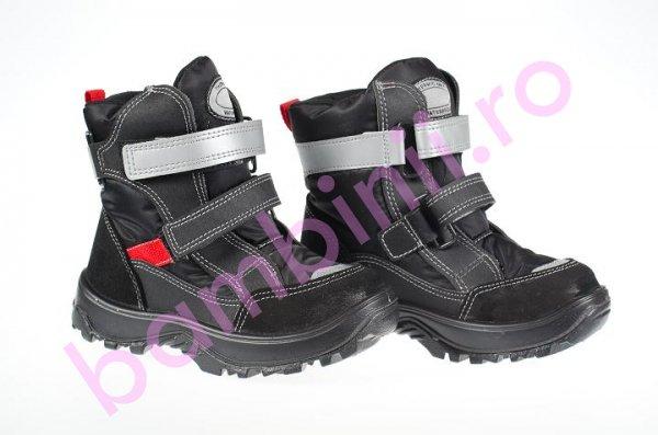 Apreskiuri copii gt-tex 95012 negru gri rosu 26-35