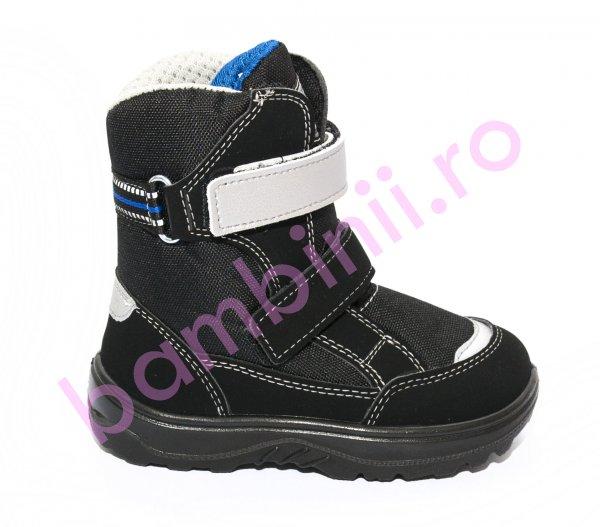 Apreskiuri copii impermeabile gt-tex 95312 negru albastru 26-36