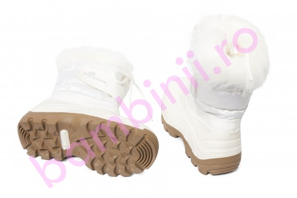 Apreskiuri copii pj shoes Fun alb bej new 21-36