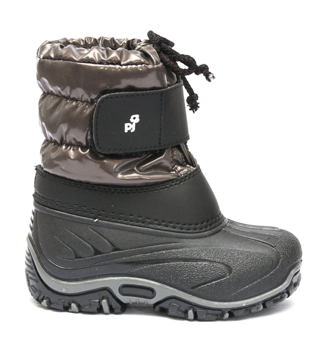 Apreskiuri copii pj shoes Fun maro negru 21-36