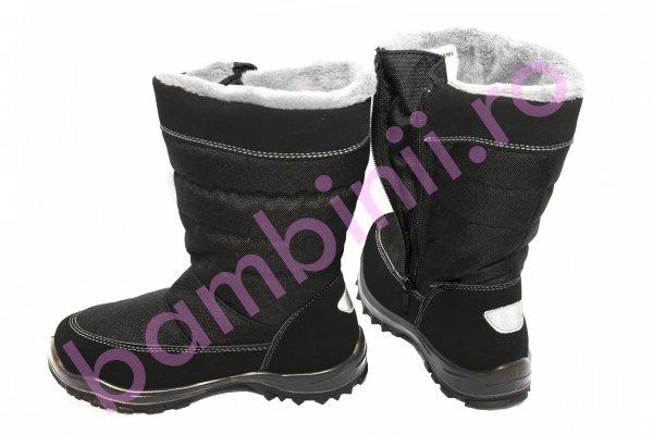 Apreskiuri copii waterproof 85315 negru 31-38