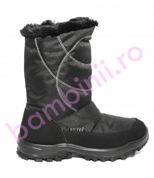 Apreskiuri copii waterproof 85409 negru 31-38