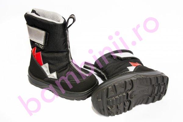 Apreskiuri copii waterproof goretex 93120 negru gri rosu