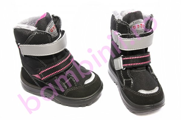 Apreskiuri fete gt-tex waterproof 93312 negu fuxia new 20-25