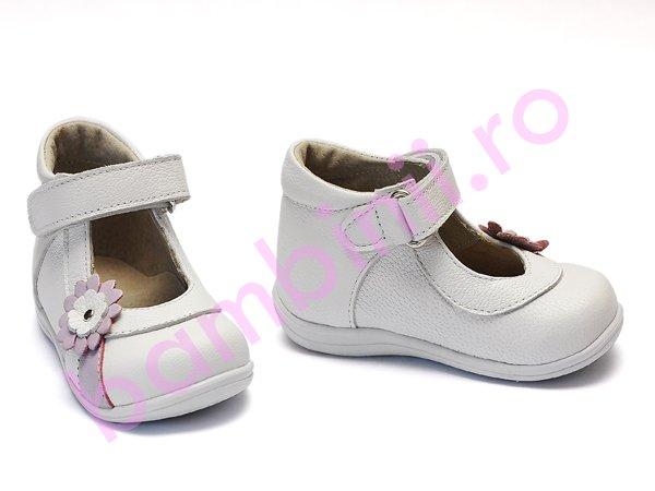 Pantofi fete 746 alb 18-25