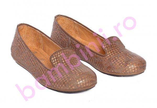 Balerini fete pj shoes Amia maro print 27-37
