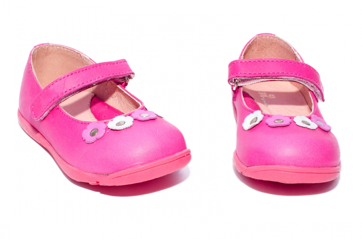 Balerini fete pj shoes Candy roz fuxia 20-26