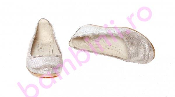 Balerini fete pj shoes Lara auriu lux 27-37