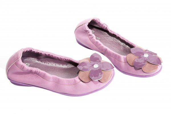 Balerini fete pj shoes Lara lila box 27-36
