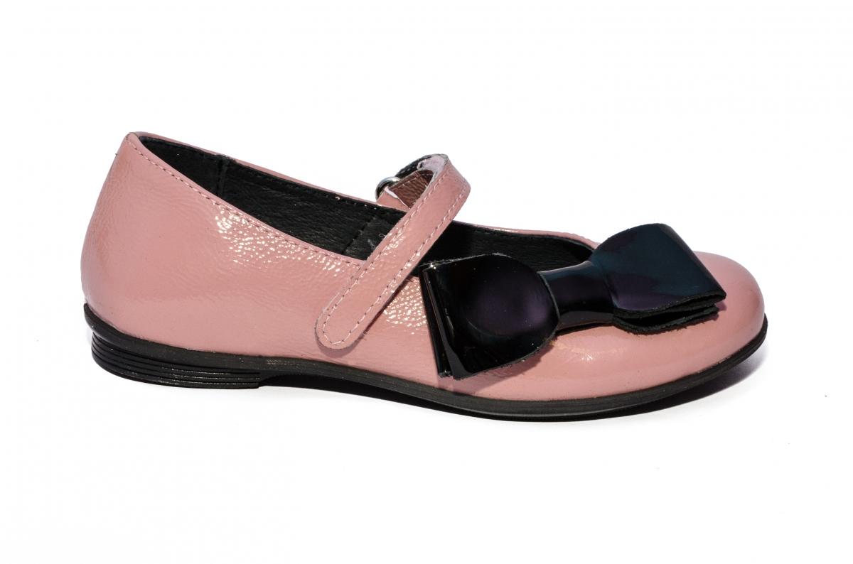 Balerini fete pj shoes piele Fantasy piersica negru 27-36