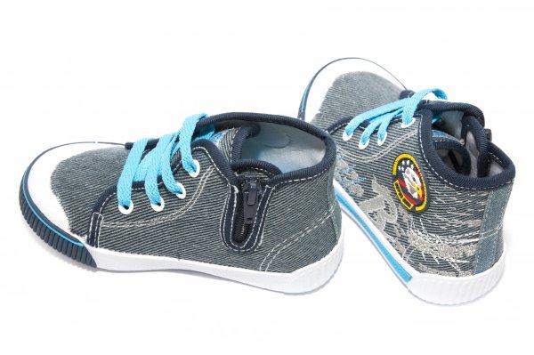 Bascheti baieti 9486 albastru 24-29