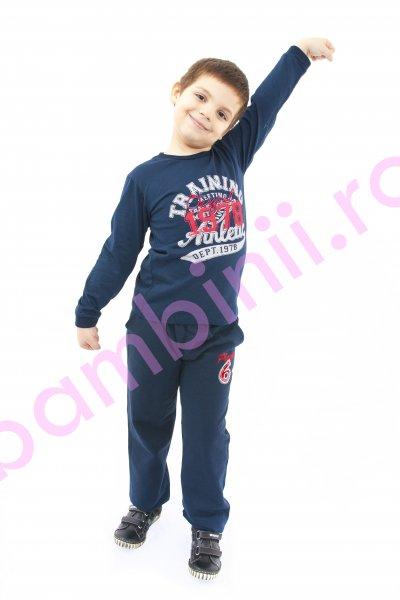 Bluza baieti 368 albastru 110-140cm