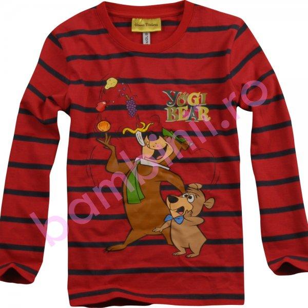 Bluze copii cu maneca lunga 2008 rosu 98cm-128cm