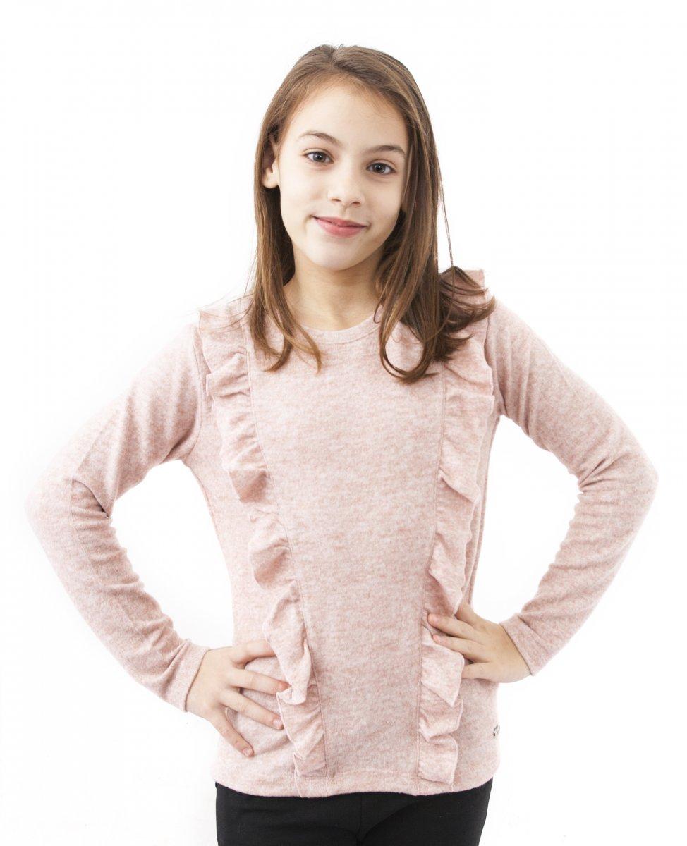 Bluze fete breeze 2655 roz 128-152cm