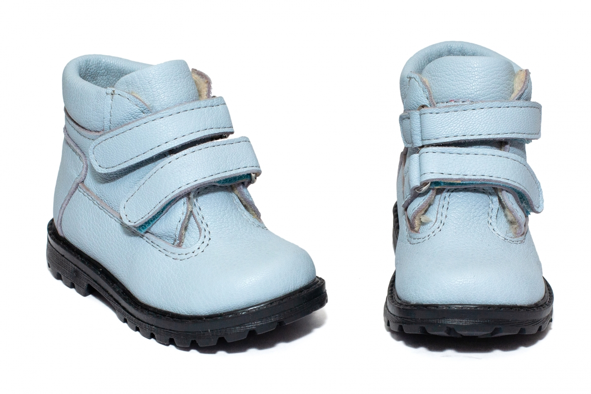 Bocancei copii cu blana 733 blue 19-25