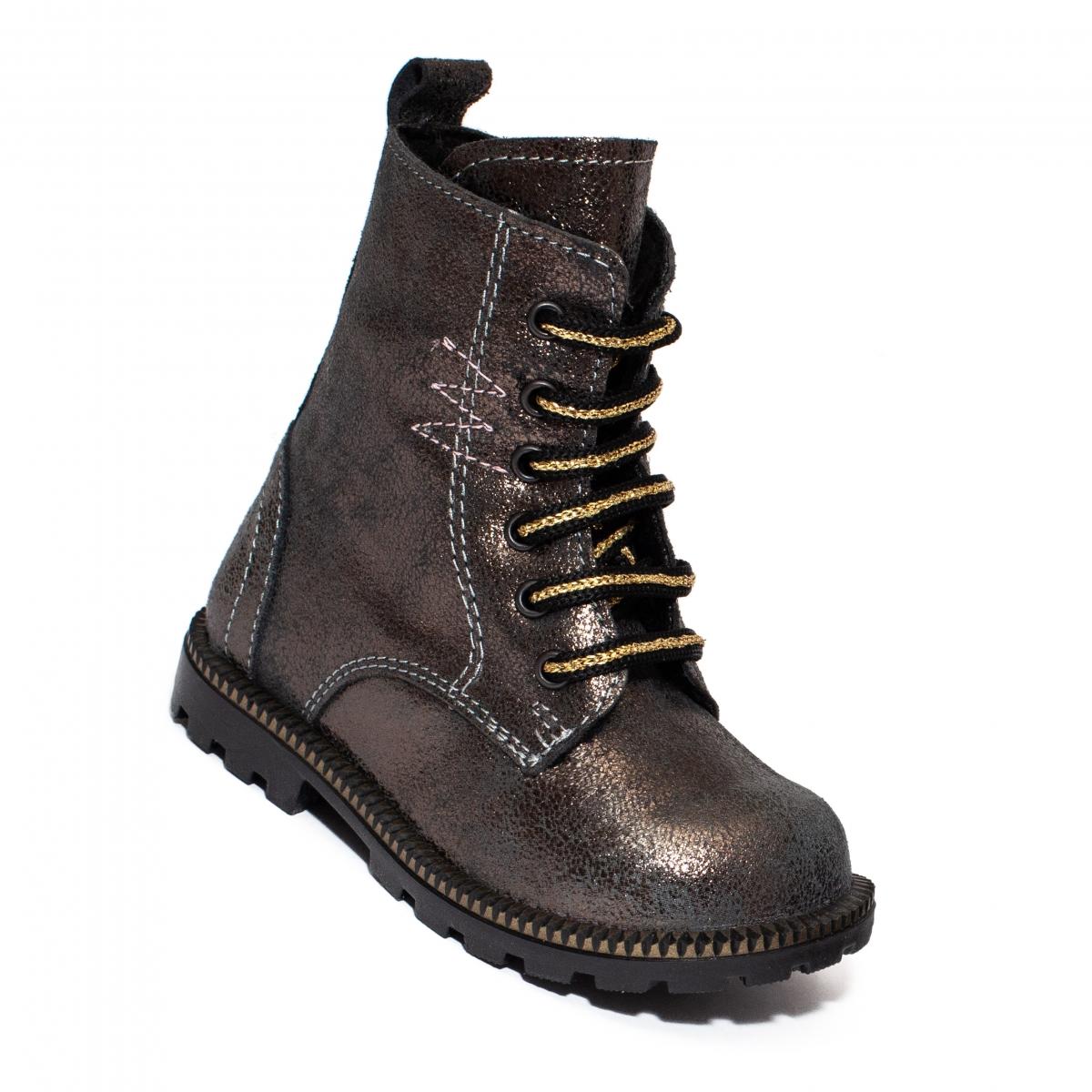 Bocancei fete cu blana Pj Shoes KIng Dusty 20-26