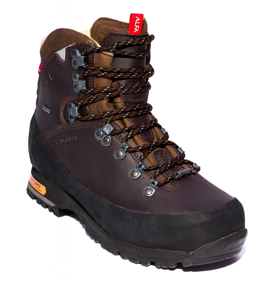 Bocanci gore-tex Alfa Walk Queen Advance GTX maro 36-45