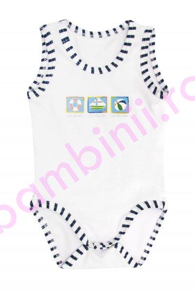 Body copii BD30 alb 1luna-2ani