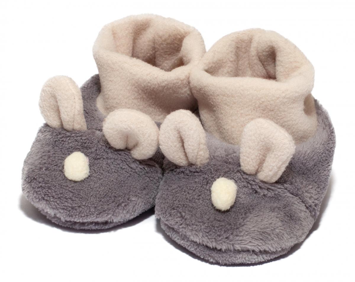 Botosei copii de iarna b22 gri 9luni-12luni