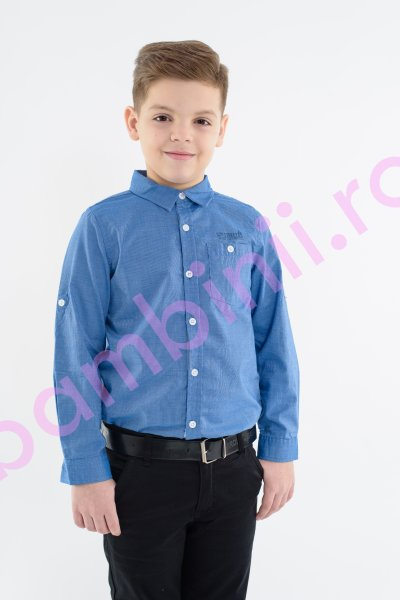 Camasi baieti Glo Story 1176 albastru 98-128