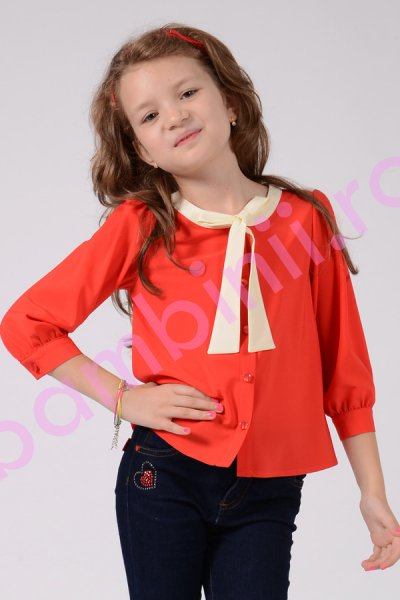 Camasa fete rosie 144