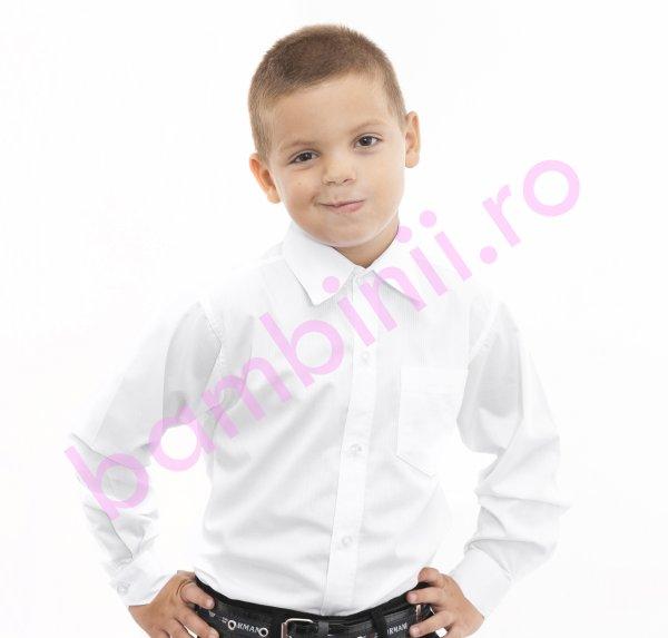 Camasi baieti elegante 923 alb