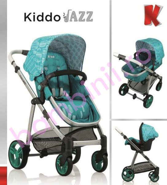 Carucioare copii Kiddo Jazz 3 in 1