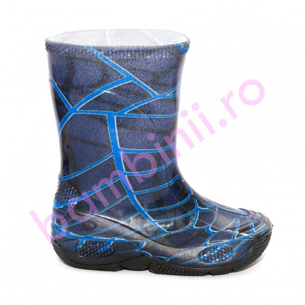 Cizme cauciuc copii 2 spiderman blu 20-30