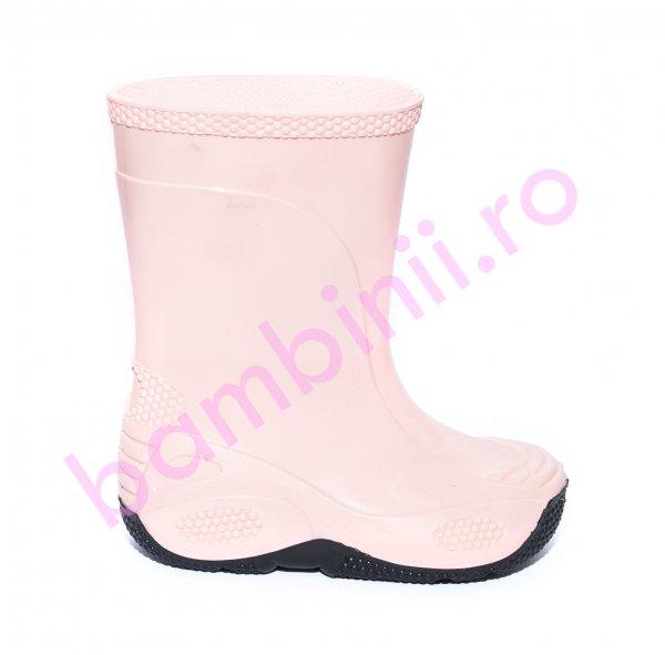 Cizme cauciuc fete 2 roz pal 20-30