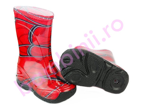 Cizme copii cauciuc spiderman 2