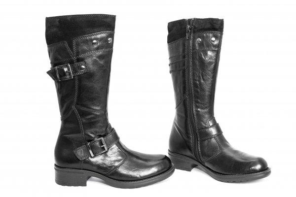 Cizme fete 1508 negru 30-40
