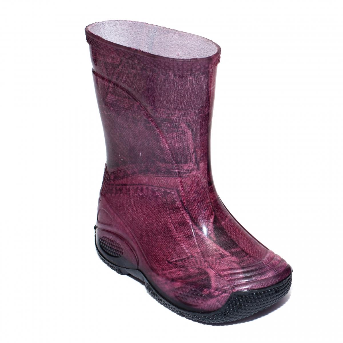 Cizme fete cauciuc de ploaie 2 blug roz 20-35