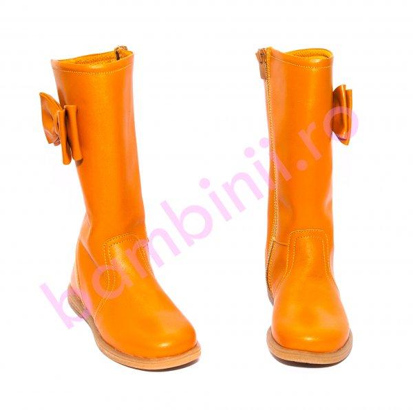Cizme fete pj shoes Ada camel 27-36