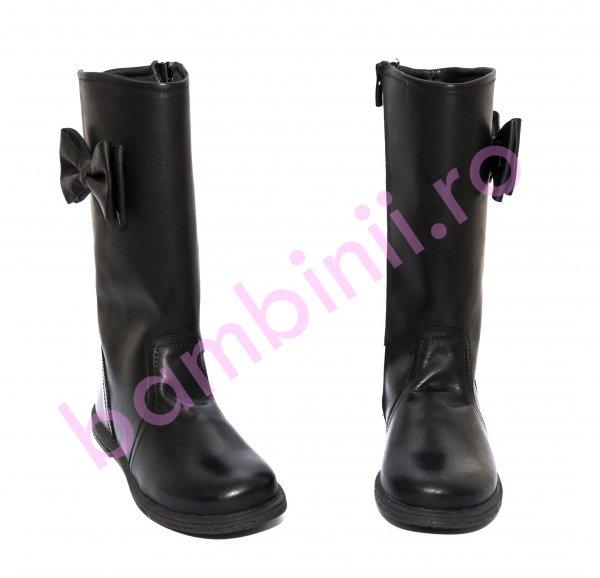 Cizme fete pj shoes Ada negru 27-36