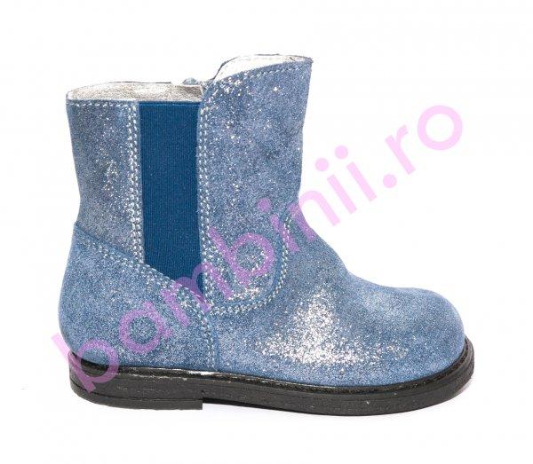 Cizme fete pj shoes Leyla albastru 20-26