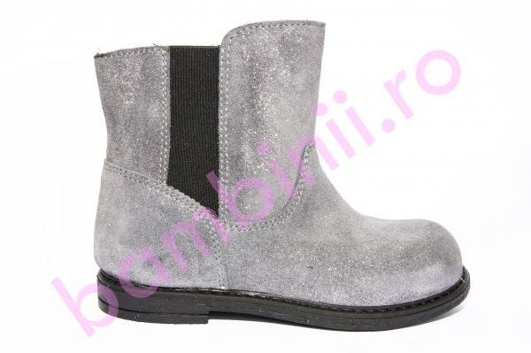 Cizme fete pj shoes Leyla gri 20-26