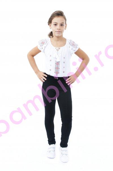 Colanti fete 7083 negru 134-164cm