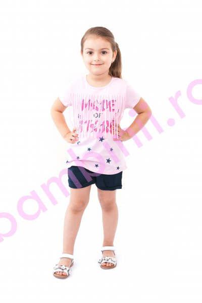 Compleu fete breeze 9036 roz blumarin 98-122cm