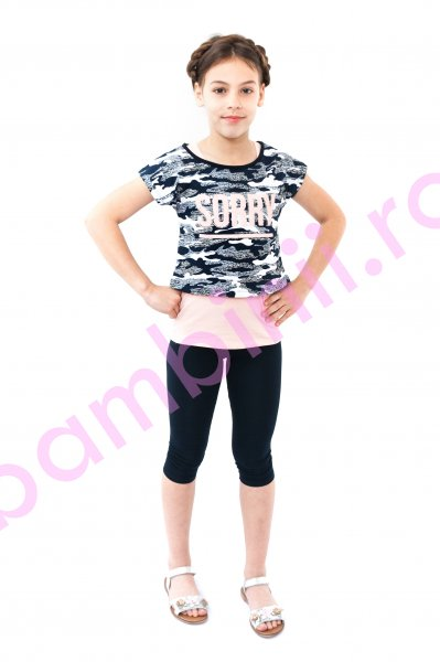 Compleu fete breeze 9039 roz blumarin 116-152cm
