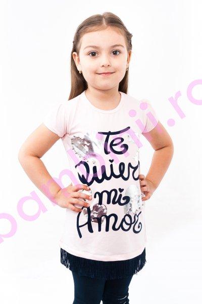 Compleu fetite breeze 8751 roz blumarin 110-140cm
