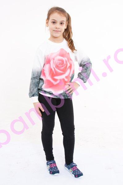 Compleuri copii 924 cu trandafir corai