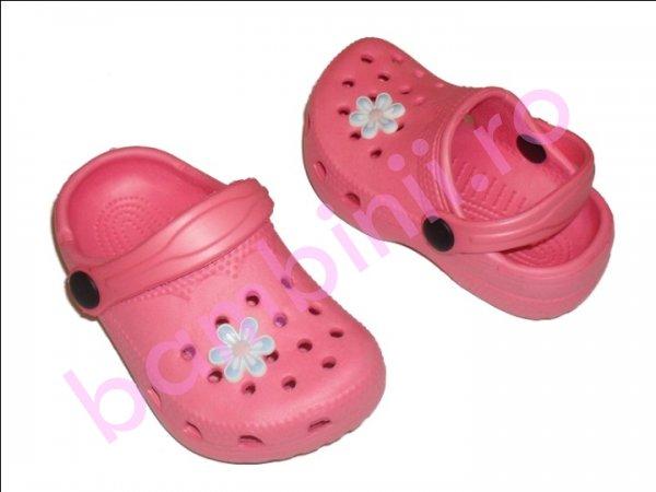 Crocs copii roz
