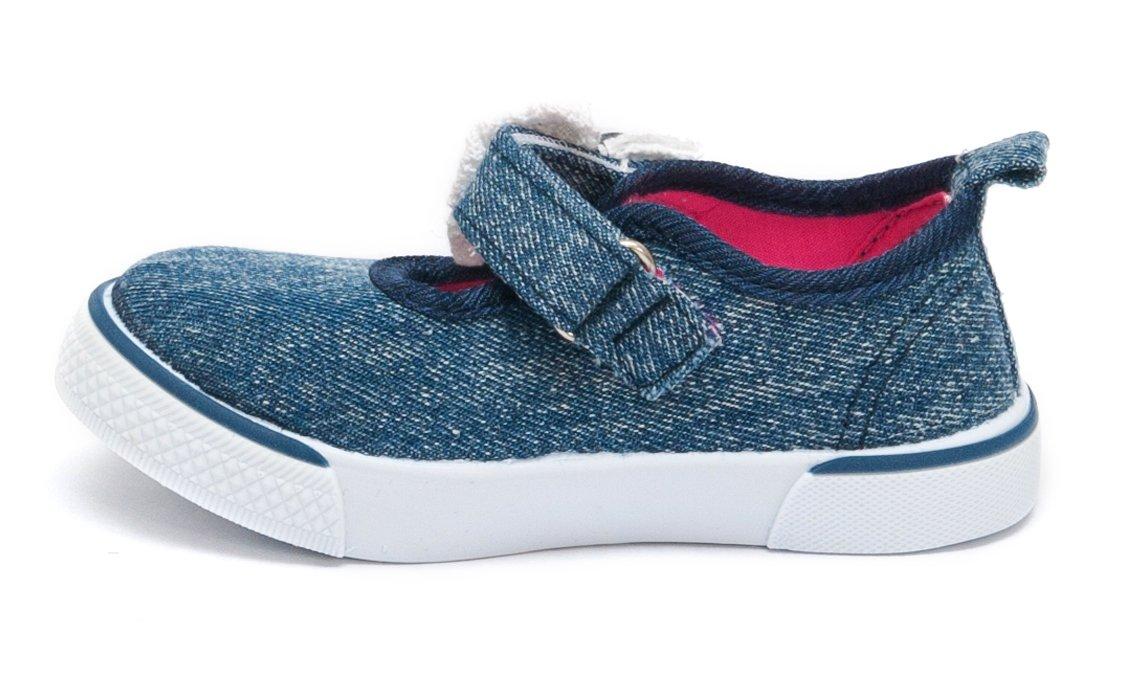 Espadrile fete textil 1133 blu roz 20-25