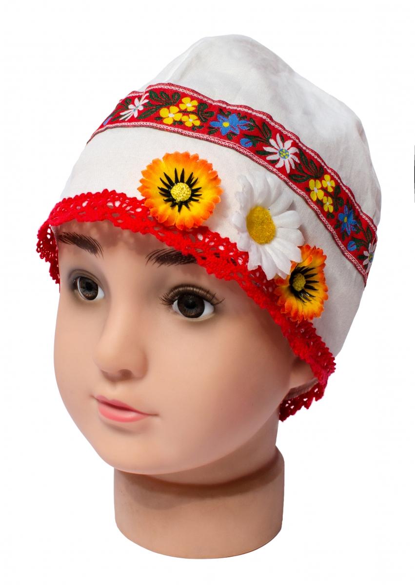 Fes traditional copii Piticot alb rosu