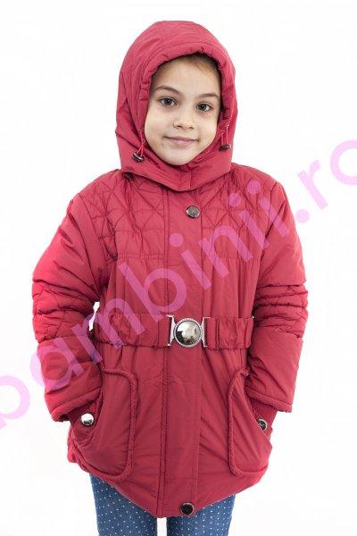 Geci copii de iarna 1277 roz bordo