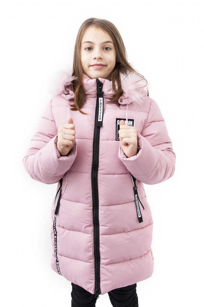 Geci fete groase de iarna 2126 turcoaz 128-164cm